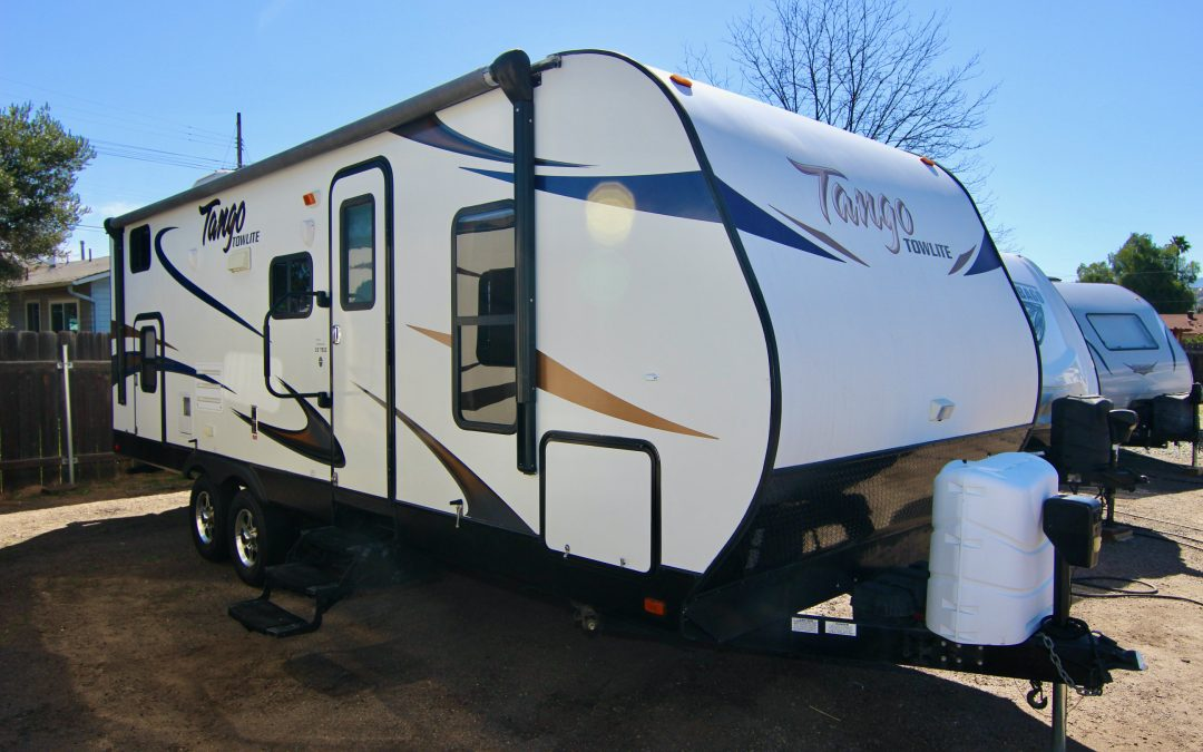 2014 Tango 26TBSS Bunk Bed Travel Trailer, Slide-Out 🥳