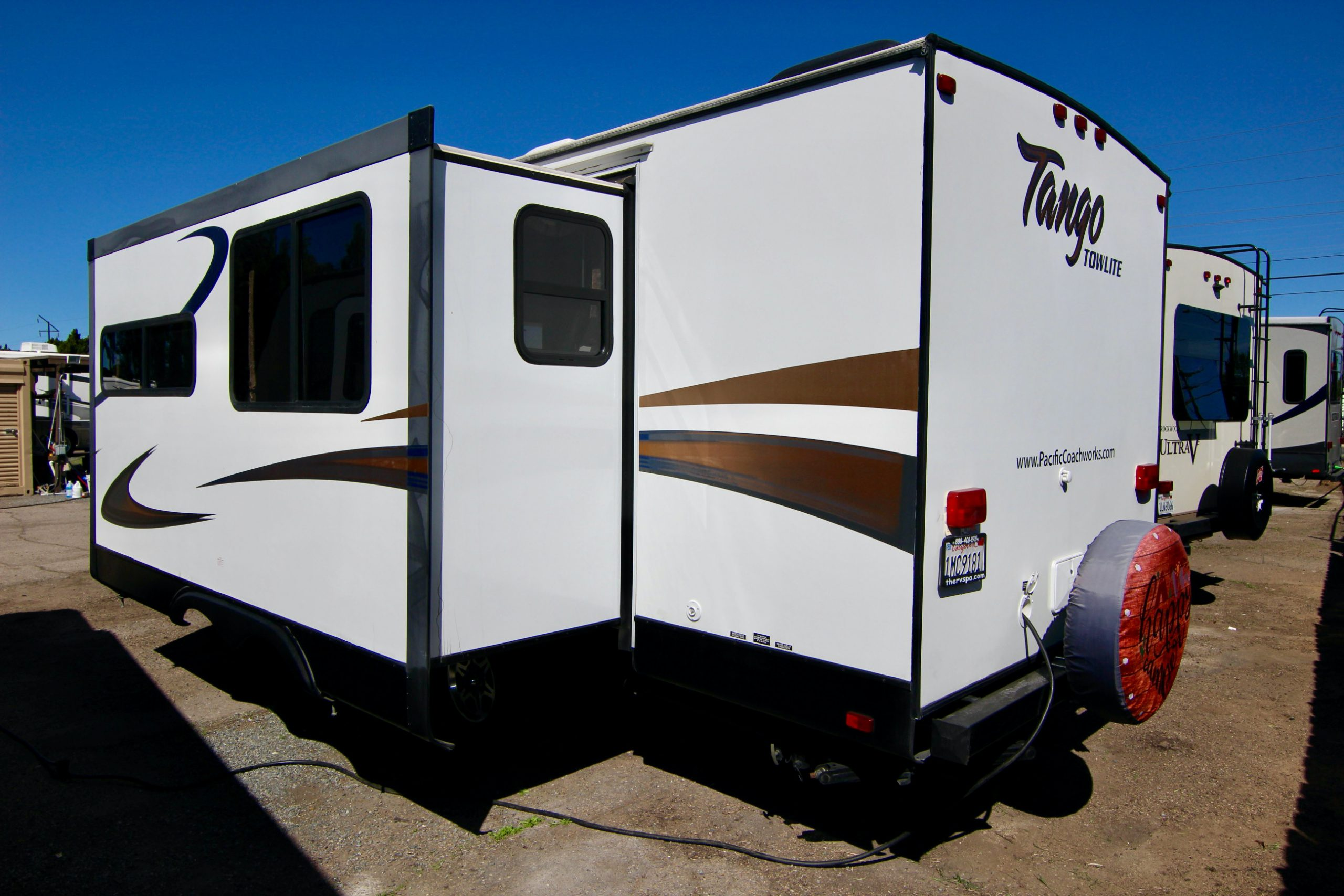 2014 Tango 26TBSS Bunk Bed Travel Trailer, Slide-Out 🥳 full