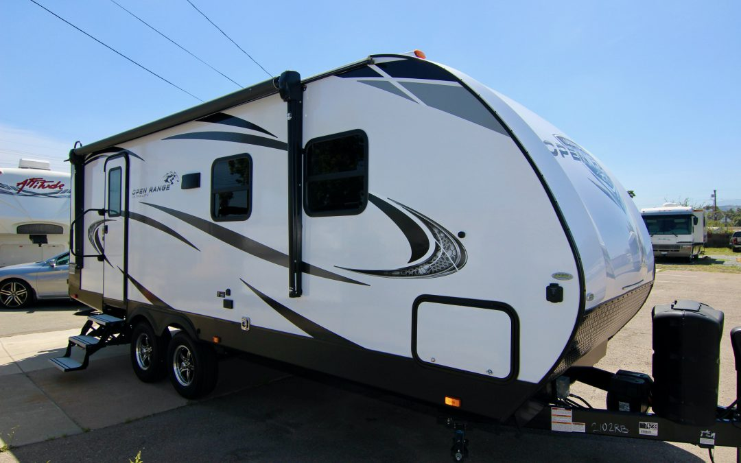 2019 Open Range 2102RB Travel Trailer Lite-Weight 😍